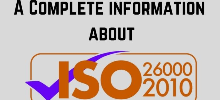 Know all about ISO 26000:2010