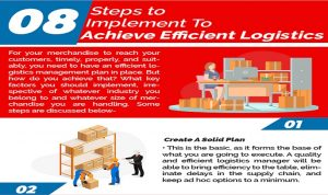 8 Steps To Implement To Achieve Efficient Logistics