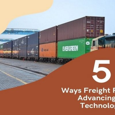 5 Ways Freight Rail Are Advancing In Technology