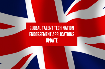 Global Talent Tech Nation Endorsement applications update