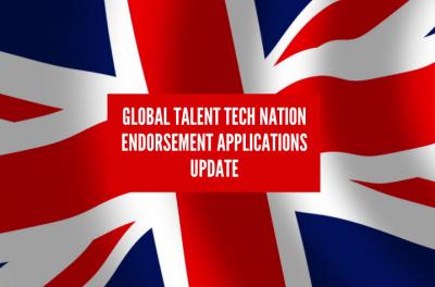 Global Talent Tech Nation Endorsement applications update