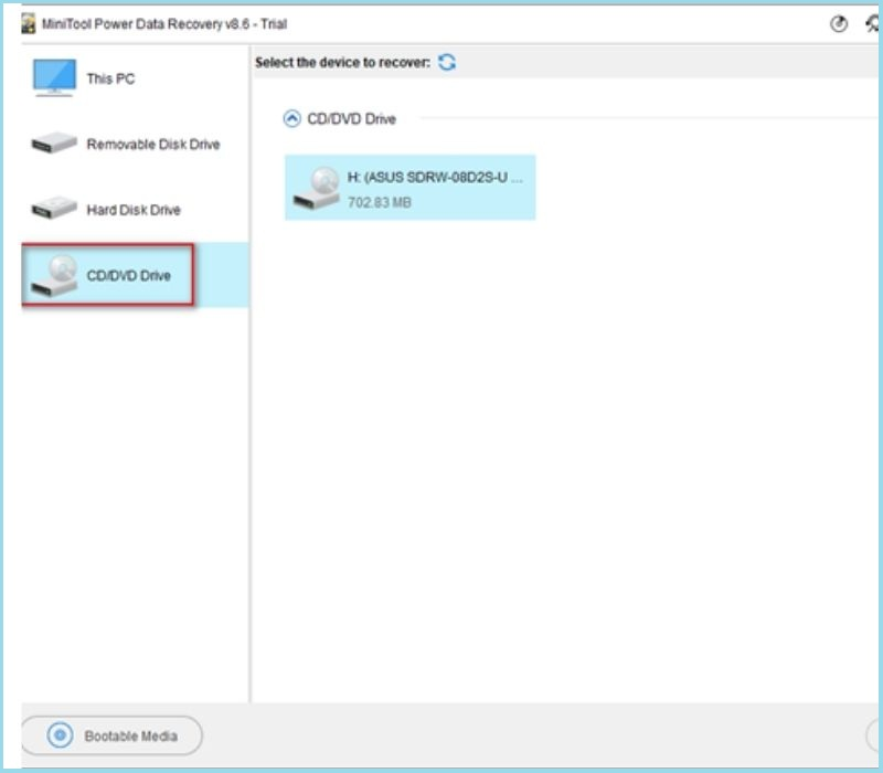 How to Recover Data from CD Drive