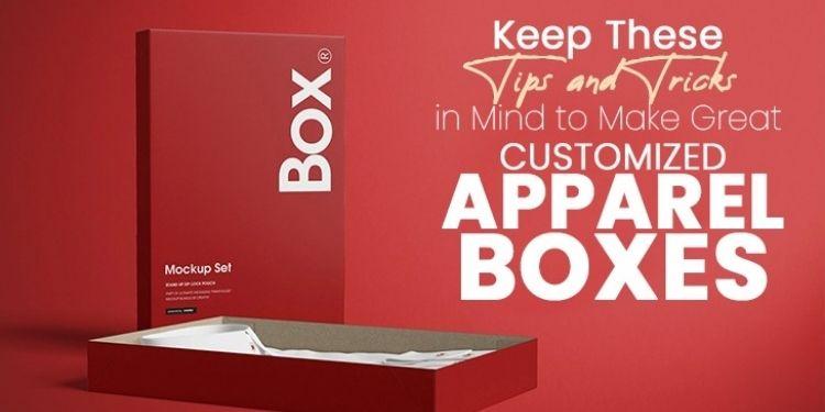 custom apparel boxes