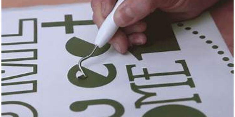 Vinyl Cutting Method
