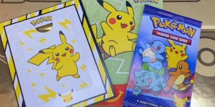 Where does the Pokemon card come from