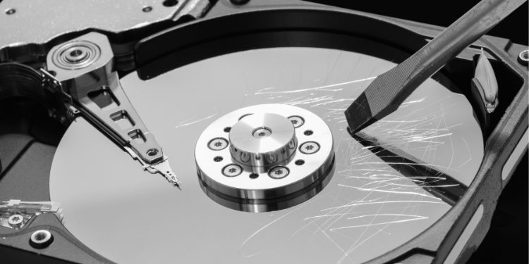 Several Techniques To Destroy Hard Disks For Data Safety